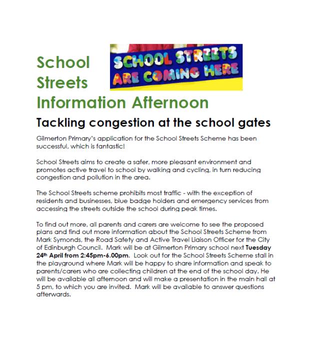 School Streets info